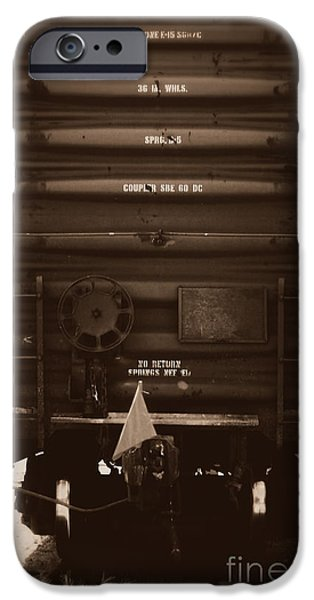 Missing it's Caboose iPhone Case by Deborah Fay