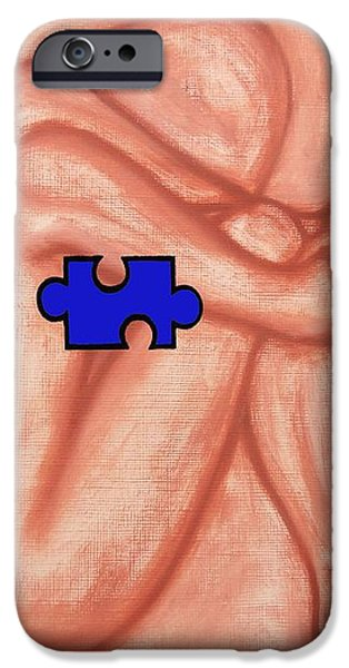 MISSING PIECE 1 iPhone Case by Patrick J Murphy