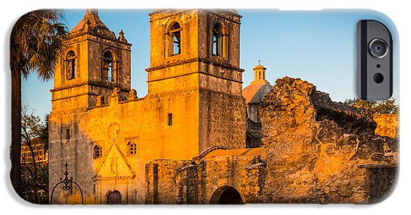 Culture iPhone Cases - Mission Concepcion iPhone Case by Inge Johnsson