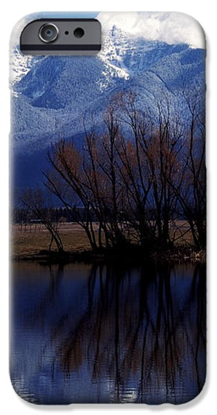 Mission Mountains Montana iPhone Case by Thomas R Fletcher