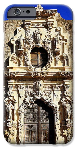 Stone Carving iPhone Cases - MIssion San Jose No 1 iPhone Case by Stephen Stookey