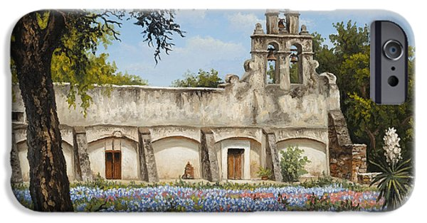 Kyle Wood iPhone Cases - Mission San Juan iPhone Case by Kyle Wood