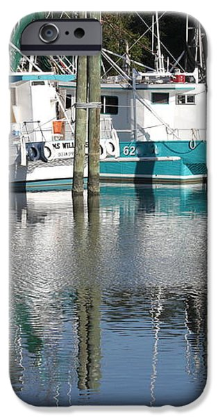 Mississippi Boats iPhone Case by Carol Groenen