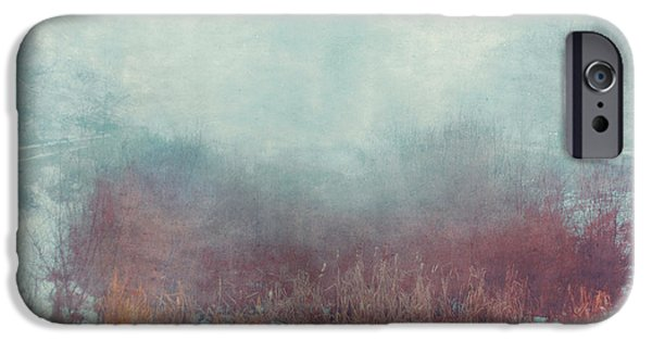 Ghastly iPhone Cases - Mist 5874 iPhone Case by Violet Gray