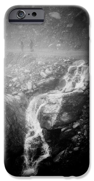 Fog Mist iPhone Cases - Mist Himalayas mountain iPhone Case by Raimond Klavins