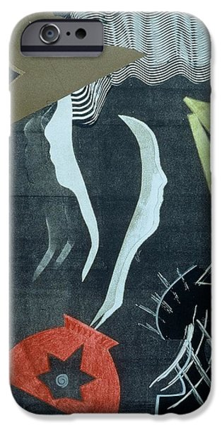 Black And White Reliefs iPhone Cases - Mistaken Identity Series #1 iPhone Case by Francisco Gonzalez