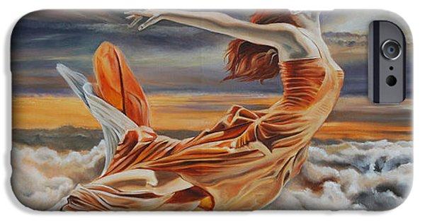 Zeus iPhone Cases - Mistress of Zeus iPhone Case by Greg Norman
