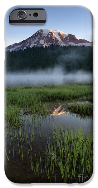 Majestic iPhone Cases - Misty Majesty iPhone Case by Mike Dawson