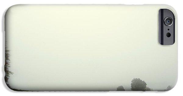 Fog Mist iPhone Cases - Misty Morning 2 iPhone Case by Katerina Vodrazkova