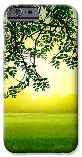 Misty Morning iPhone Case by Bedros Awak