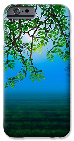 Misty Night iPhone Case by Bedros Awak