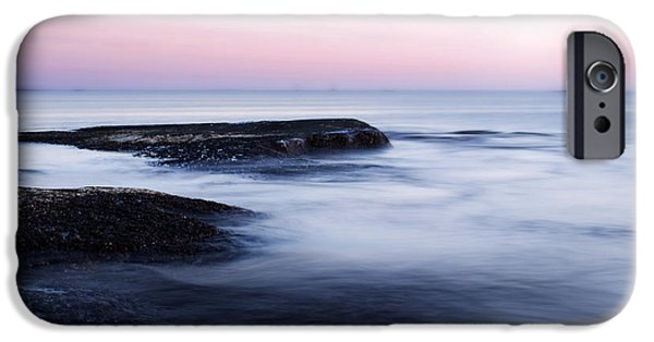 Sea iPhone Cases - Misty Sea iPhone Case by Nicklas Gustafsson