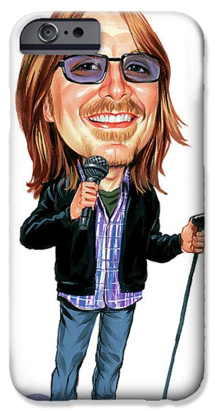 Comedian iPhone Cases - Mitch Hedberg iPhone Case by Art