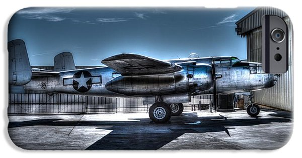 North American B-25j Mitchell iPhone Cases - Mitchell B-25J iPhone Case by Tommy Anderson