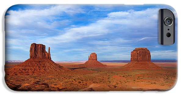 Landscape Framed Prints iPhone Cases - Mittens Afternoon iPhone Case by Darren  White