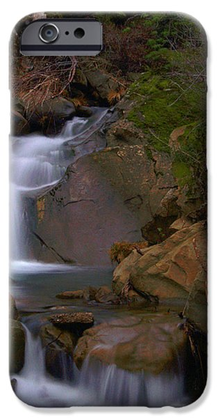 Mix Canyon Creek iPhone Case by Bill Gallagher