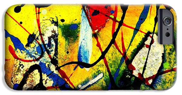 Original Watercolor iPhone Cases - Mixed Media 104 iPhone Case by John  Nolan