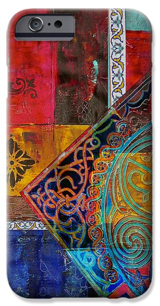 Motif One iPhone Cases - Mixed Motifs 9 iPhone Case by Corporate Art Task Force