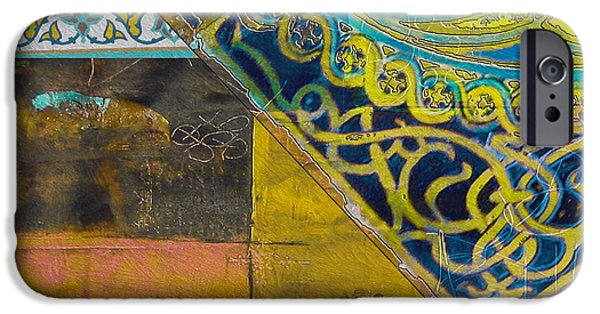 Motif One iPhone Cases - Mixed Motifs 9D iPhone Case by Corporate Art Task Force