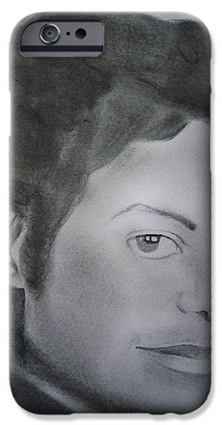 MJ the King iPhone Case by Ai P Nilson