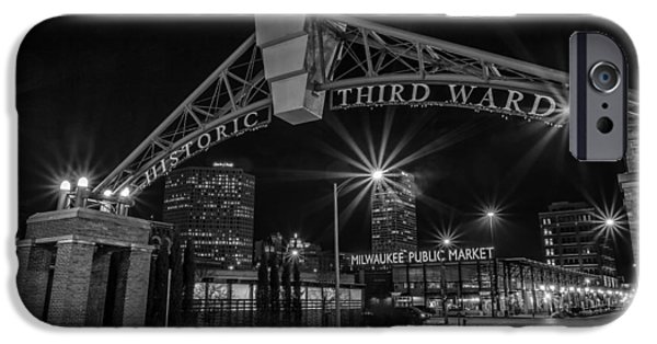Cj iPhone Cases - MKE Third Ward iPhone Case by CJ Schmit