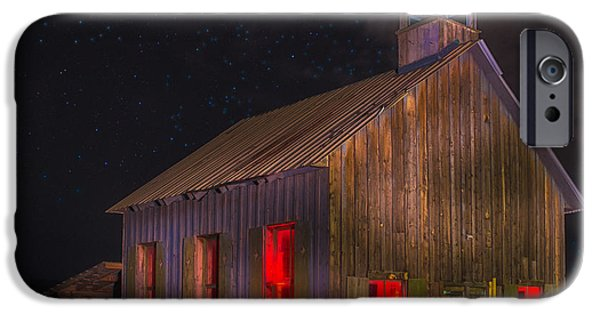 One iPhone Cases - Moab One Room Schoolhouse iPhone Case by Jerry Fornarotto