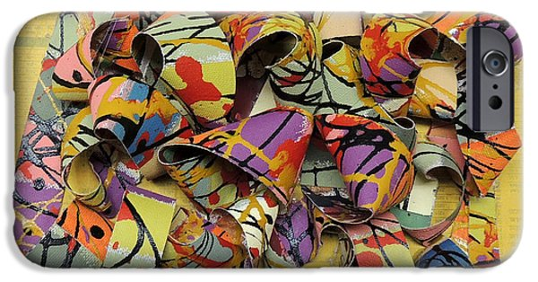 Mobius Strip iPhone Cases - Mobius Landscape iPhone Case by Sam Bleecker