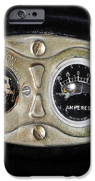 Model T Control Panel iPhone Case by Al Powell Photography USA
