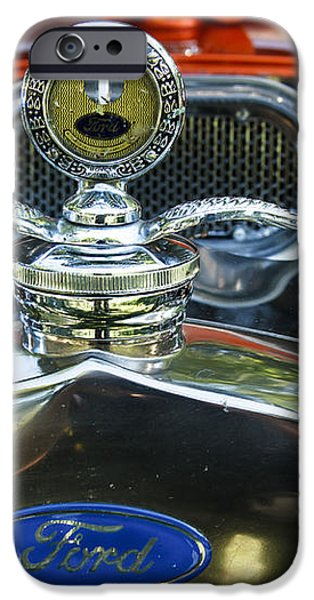 Model T Ford iPhone Case by Robert Bales