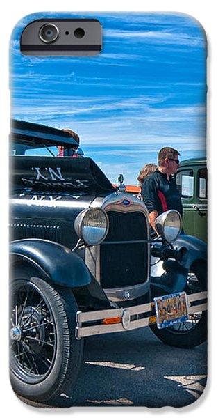Model T Fords iPhone Case by Steve Harrington