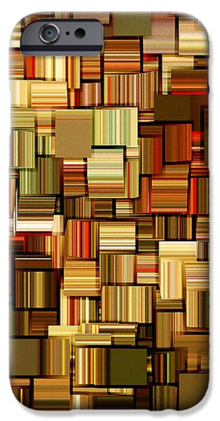 Modern Abstract XXIII iPhone Case by Lourry Legarde