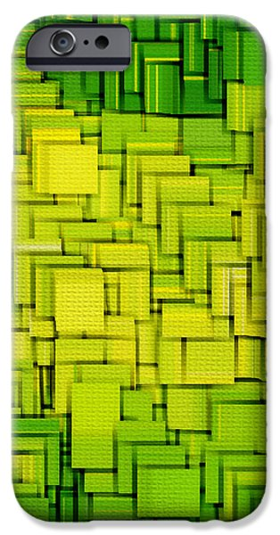 Modern Abstract XXXIII iPhone Case by Lourry Legarde