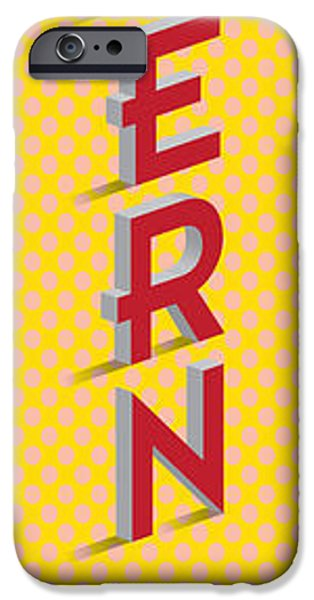 Decorative Digital Art iPhone Cases - Modern Art iPhone Case by Gary Grayson