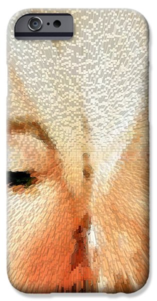 Marilyn Portrait iPhone Cases - Modern Marilyn - Marilyn Monroe Art by Sharon Cummings iPhone Case by Sharon Cummings