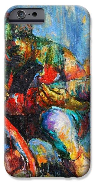 Modern Pieta 2 iPhone Case by Michal Kwarciak