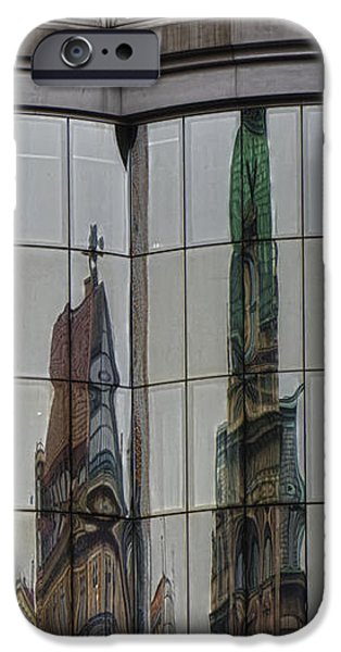 Modern Totems iPhone Case by Joan Carroll