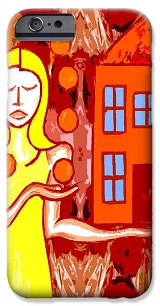 MODERN WOMAN iPhone Case by Patrick J Murphy