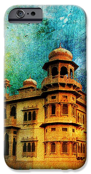 Mohatta Palace iPhone Case by Catf