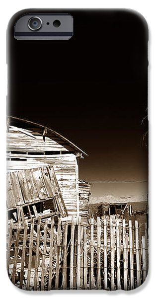 Mojave House iPhone Case by John Rizzuto