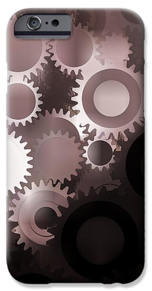 Interlocked iPhone Cases - Mojo Synchronicity iPhone Case by Bob Orsillo