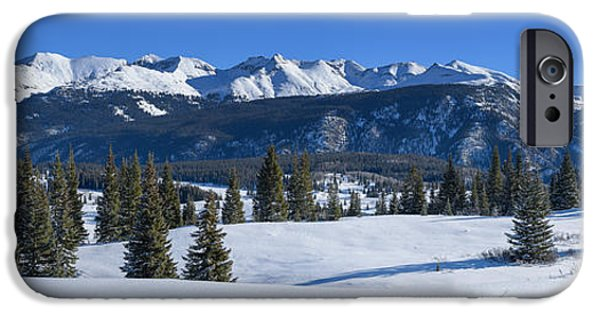 Snow iPhone Cases - Molas Pass iPhone Case by Darren  White