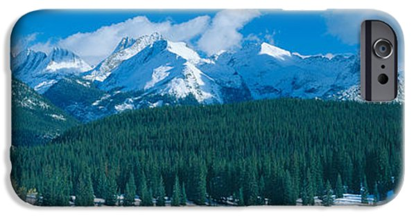Mountain iPhone Cases - Molas Pass Summit, Million Dollar iPhone Case by Panoramic Images