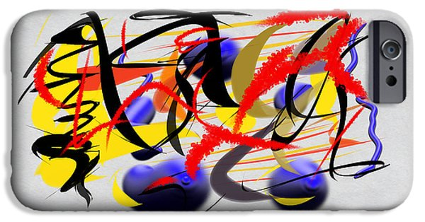 Abstract Digital Digital iPhone Cases - Momentous iPhone Case by Paulo Guimaraes