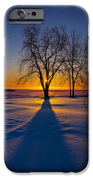 Outdoors iPhone Cases - Moments of Clarity iPhone Case by Phil Koch