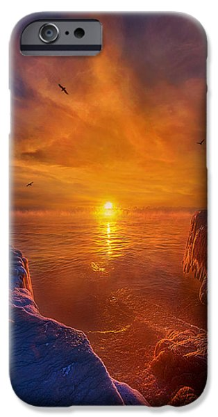 Chicago iPhone Cases - Moments of Discovery iPhone Case by Phil Koch