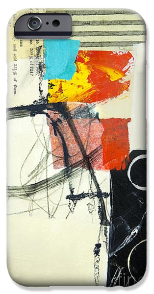 Abstractions iPhone Cases - Momentum iPhone Case by Elena Nosyreva