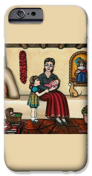 Momma Do You Love Me? iPhone Case by Victoria De Almeida