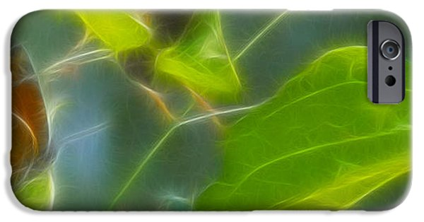 Drama iPhone Cases - Monarch-7-Fractal iPhone Case by Gary Gingrich Galleries