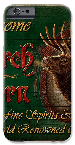Monarch Tavern iPhone Case by JQ Licensing