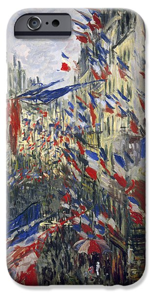 MONET: MONTORGEUIL, 1878 iPhone Case by Granger